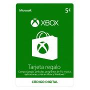 Microsoft Tarjeta Xbox Live 5€ - Código digital