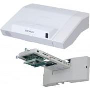 Videoproiector Hitachi CPAW3005, 3300 lumeni, 1280 x 800, Contrast 10.000:1, HDMI + sistem de prindere (Alb)