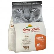 2кг Holistic Almo Nature суха храна за котки, говеждо и ориз
