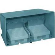 Comutator de picior dublu - ip66 - cu capac - metalic - albastru - 2 nc + 2 no - Comutator de picior - Harmony xpe - XPEM5100D - Schneider Electric
