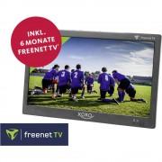"""Prijenosni TV 25.6 cm 10.1 """" Xoro PTL 1050 uklj. 6 mjeseci freenet TV , Rad na baterije, Uklj. 12V auto kabel za napajanje, Uklj"""