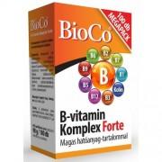 BioCo B-vitamin Komplex Forte, 100 db tabletta