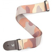 Planet Waves 2-Inch Woven Guitar Strap Camo - Brown