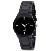 i DIVA'S IIK Collection Collection of Full Black Luxury Analog Watch - For Women Girls