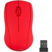 Мишка Speedlink SNAPPY, оптична (1000 dpi), безжична, USB, червена