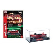 1958 Plymouth Fury Christine Red Chrome Limited Edition to 3600 Pieces Worldwide 1/64 Diecast Model Car by Autoworld