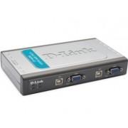 D-LINK DKVM-4U KVM switch 4port USB + 2 seta kablova