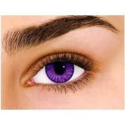 Diamond Eye Violet Colour Yearly(Zero Power) Contact Lens