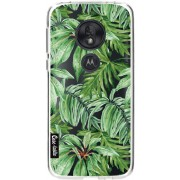 Casetastic Softcover Motorola Moto G7 Play - Transparent Leaves