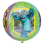 Balon folie orbz sfera Monsters University - 38x40cm, Amscan 28401
