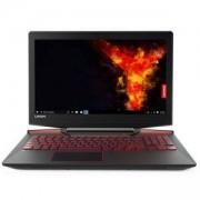 Лаптоп LENOVO Y720-15IKB/ 80VR00B1BM, Intel Core i7-7700HQ, 8GB, 1TB, 15.6 инча FHD