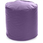 Home Story Round Ottoman Medium Size Purple Cover Only