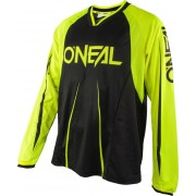 Oneal Element FR Blocker Bicicleta Jersey Amarillo Neón S