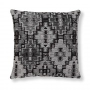 Kave Home Capa para almofada Nazca 45 x 45 cm cinzento escuro
