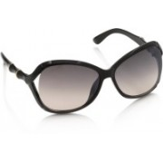 Gio Collection Over-sized Sunglasses(Grey, Violet)