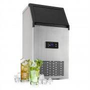 Klarstein Glacial XL, професионална машина за ледени кубчета, 38кг /ден, 15 л, LED, неръждаема стомана, черна (ICE10-0002)
