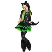 Fun World Kool Kat niño Disfraz - pequeño