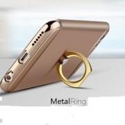 Universal -360 Rotate Metal Finger Ring Smartphones - Mobile Phone Holder - Assorted Colours(Gold Silver Black Pink)
