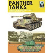 Panther Tanks: Germany Army and Waffen-Ss, Defence of the West, 1945, Paperback/Dennis Oliver