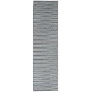 Kelim Long Stitch - Blå matta 80x290 Modern, Avlång Matta