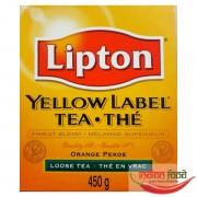 Lipton Yellow Label Loose Tea (Ceai Negru Varsat Lipton) 450g