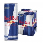 Red Bull Energy drink blik 4 x 25 cl