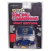 Racing Champions - Mint Edition - 1996 Dodge Viper GTS (Dark Blue w/White Stripes) - Issue #1