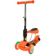 Trotinet PlayGame 3 točka narandžasti 3u1 , 0127133