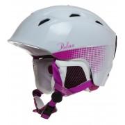 RELAX Helma Lyžařská helma RH20D bílá S