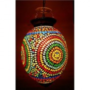 Susajjit Graceful multicolor attractive look Mosaic lamps for ceiling Home decoration