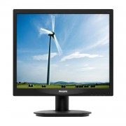 MONITOR LED PHILIPS 17S4LSB - 17'/43.2CM - 1280X1024 A 60 HZ - 5:4 - 5MS - 250CD/M2 - 20M:1 SMARTCONTRAST - 5:4 - TAMAÑO PUNTO 0.264MM - DVI-D - VGA