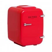 Mini frigorífico - para carros - 4 l - vermelho - termóstato