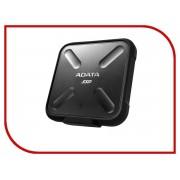 Жесткий диск A-Data SD700 256Gb USB 3.1 Black Color Box ASD700-256GU3-CBK