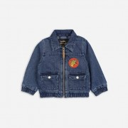 Mini Rodini denim tiger jacket