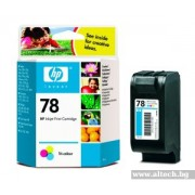 HP 78 Tri-Colour Original Inkjet Print Cartridge (19ml) (C6578DE)