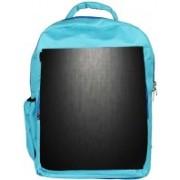 Snoogg Eco Friendly Canvas Matt Black Floor Design Designer Backpack Rucksack School Travel Unisex Casual Canvas Bag Bookbag Satchel 5 L Backpack(Blue)