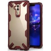 Husa Huawei Mate 20 Lite Ringke FUSION X Transparent Rosu