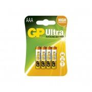 4 buc Baterie alcalină AAA GP ULTRA 1,5V