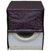Glassiano coffee colored waterproof and dustproof washing machine cover for front load IFB EvaAquaSX6 6KG washing machine