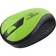Mouse Esperanza Titanum Rainbow, Wireless (Verde)