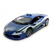 Lamborghini Huracan Lp610 4, Blue Bburago 11041 1/18 Scale Diecast Model Toy Car