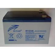 RT12140EV 12V 14 Ah Zárt ólomzselés ciklikus akkumulátor (RITAR)