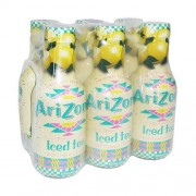 ARIZONA Iced Tea Lemon Bevanda Al Te' Freddo Al Limone 6X500Ml