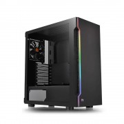 CASE, Thermaltake H200 TG RGB, Black /no PSU/ (CA-1M3-00M1WN)