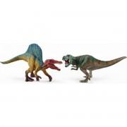 Schleich 41455 Set Spinosaurus a T-rex malý