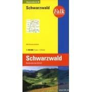 Wegenkaart - landkaart 14 Schwarzwald - Zwarte Woud | Falk