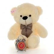 2.5 Feet Peach Big Teddy Bear with a Bow