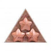 Makeup Revolution London I Heart Revolution Star Fizzer подаръчен комплект разтворими таблетки пяна за вана с форма на звезда 3 бр x 40 g W Coconut