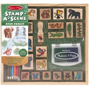 Melissa and Doug Set stampile Jungla
