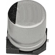 Condensator electrolitic SMD - SAMWHA - 0.1µF - 50V - Ø4 x 5.3mm - ±20% - 1000h